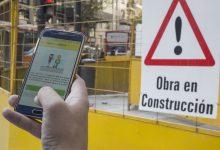 Los vecinos de la Ciudad podrán controlar las obras en veredas desde su teléfono celular