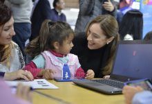Vidal y Macri anunciaron el Plan Aprender Conectados en el nivel inicial