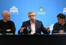 Fernández, Kicillof y Larreta analizaron como seguirá la cuarentena