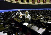 Cierre y desinfección en el Congreso, e hisopado a algunos diputados