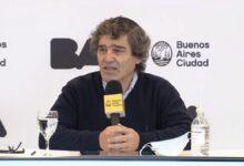 Quirós dijo que los números de casos de coronavirus en la Ciudad «están relativamente estables»