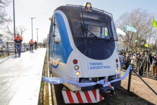 Después de 28 años: El ferrocarril Belgrano Sur ya llega a Marcos Paz