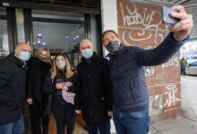 Campaña bonaerense: Santilli recorrió Lanús con Larreta y Grindetti
