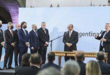 El Presidente le tomó juramento al nuevo Gabinete en la Casa Rosada