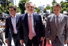 El presidente se muestra con De Pedro y Massa en La Rioja ante gobernadores del PJ